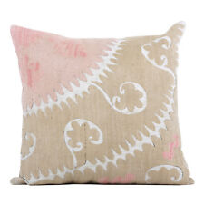 """18"""" x 19"""" Pillow Cover Suzani Pillow Cover Vintage FAST Shipment With UPS 10094"""