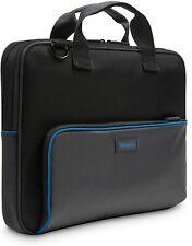 Targus Laptop Bag 13.3-Inch Topload Laptop Bag, Black/Grey (TED016GL)