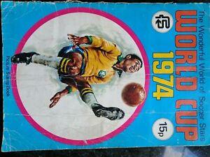 FKS World Cup 1974 Soccer Stars Album - Complete