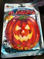 Bubbles Pumpkin Bubble Spooky Halloween Cute Fun Party Balloon New!