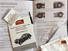 CMC Bugatti Type 57 SC Atlantic Coupe 1:18 Black