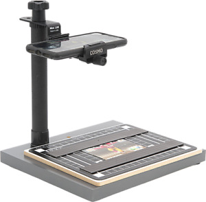 COSMO COPYSTAND, Mini100 TO DIGITIZE PHOTOS, DOCUMENTS (CHECKS) W/YOUR PHONE