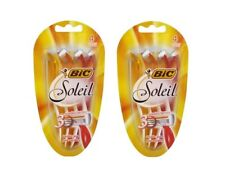 BIC Soleil Triple Blade Disposable Razors, 4 Count (Pack of 2)