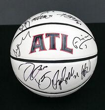 2015 ATLANTA HAWKS Team Signed Autographed Logo Basketball COA! NBA CHAMPS?!?!?