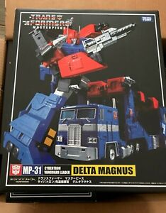 Takara Tomy Authentic Transformers Masterpiece MP31 DELTA MAGNUS Sealed US Sellr