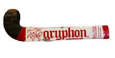 "Vintage Field Hockey Stick GRYPHON AUSTRALIAN 36"" Designed by Peter Haselhurst"