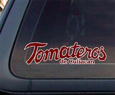 Tomateros De Culiacan Baseball Car Decal / Sticker