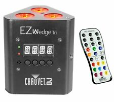 NEW! CHAUVET EZWedge Tri DJ Tri-Color Dimmable LED Light Effect w/ IRC Remote