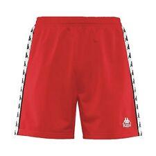 Neu Herren Kappa Cole Banda Rot Shorts ~ UVP