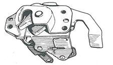 Serratura porta dx Fiat Panda T.T. fino al 2003>