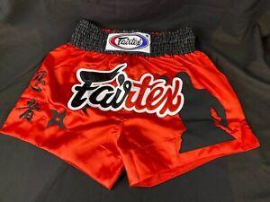 "Fairtex-Muay Thai Short/ Kick Boxing Shorts - The Assassin Satin BS0638 ""Large"""