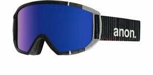 Anon Men's Relapse Snow Ski Goggle, Stryper Frame Blue Cobalt Lens
