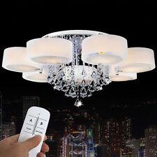 7-flammig Kristall LED Dimmbar RGB Deckenlampe Deckenleuchte Wandlampe Luster