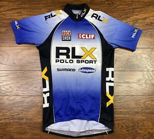Rlx Polo Sport Cycling Jersey XS blue LL