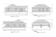 32x42- 4 car garage HIP ROOF - 42'X32' HIP ROOF GARAGE PLAN #17-3242HIP