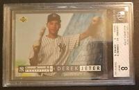 1994 Upper Deck Top Prospect - Derek Jeter Rookie Card FOIL #550 - Beckett NM-MT