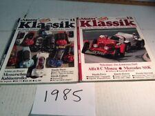 Motor Klassik Magazine - Mixed lot Of 34 (1985, 86, 87, 88, 90, 96,2000) German