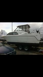 2001 BAYLINER 24' BOAT LOCATED IN PARK CITY, ILLINOIS - NO TRAILER