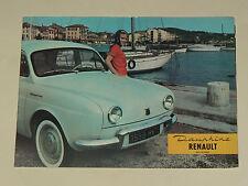 GRAND Catalogue RENAULT DAUPHINE 1959 Brochure Prospectus prospekt car