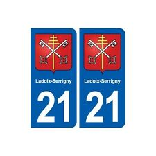 21 Ladoix-Serrigny blason autocollant plaque stickers ville droits
