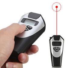 Ultrasonic Distance Meter Measure Range Finder Laser Electronic Tape Measure