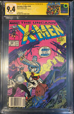The Uncanny X-Men #248 Newsstand CGC SS 9.4 Signed By Chris Claremont
