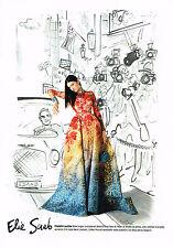 PUBLICITE ADVERTISING 045  2014  ELIE SAAB  haute couture par IZAK