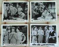 4 Aushangfotos At War with the Army - JERRY LEWIS / DEAN MARTIN -  s/w -  USA