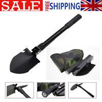 1PC Military Folding Shovel Survival Spade Emergency Camping Hiking Hunting Tool