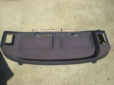 Mercedes 126 300 SD 380 SE  blue rear shelf hat tray back panel cover console