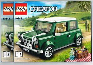 LEGO Instruction Books 10242 NEW for - MINI Cooper - Car Manual
