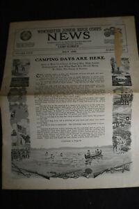 1920 Winchester Junior Rifle Corp News