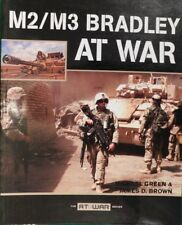 """M2/M3 Bradley """"AT-WAR""""Series,by Michael Green & James D.Brown,A Great Reference!"""