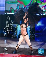 MELINA WWE NWA DIVA SIGNED AUTOGRAPH 8X10 PHOTO #2 W/ PROOF
