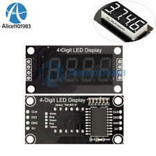 "0.36"" Inch TM1637 4-digit Tube LED White Digital Display Module For Arduino"
