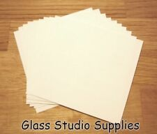 25 Small Sheets of Bullseye HotPot Thinfire Kiln Paper for Glass Fusing (TFP03)