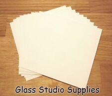 10 Small Sheets of Bullseye HotPot Thinfire Kiln Paper for Glass Fusing (TFP02)