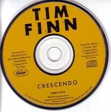 Crowded House TIM FINN Crescendo PROMO CD Single 1989