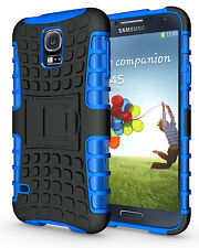 Blue Case Cover Stand for Samsung Galaxy S5 Heavy Duty Strong Durable Tough
