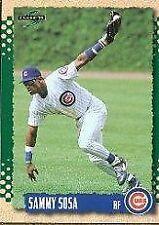 Sammy Sosa Chicago Cubs Original Single Baseball Cards