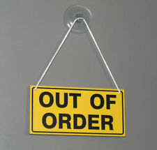 Out of Order Sign - Door - Window - Hanging Sign