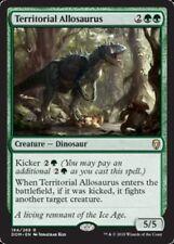 4x Territorial Allosaurus Nm-Mint, English Dominaria Mtg Magic