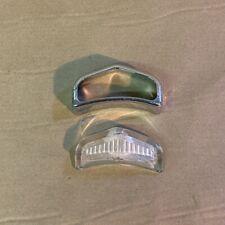 Original Daimler Dart SP250 Lucas L517 Type Sidelamp Lens and Chrome Rim OEM