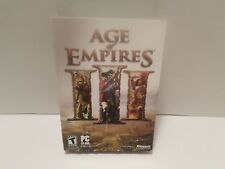 Age of Empires 3 III PC Brand New Sealed