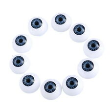 LOVE Plastic Toy Doll Eyes Black Round For Animals Toy DIY 20mm 50x