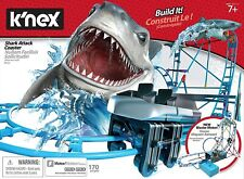 KNEX SHARK ATTACK ROLLER COASTER - NEW - PARTS MISSING