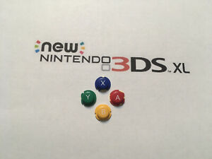 Finally Made To Fit 2015 Nintendo New 3ds XL Game system Set Of Buttons  US !!