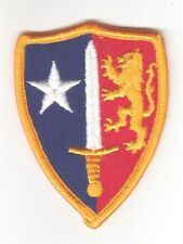 Army Patch:  Allied Command Europe - merrowed edge