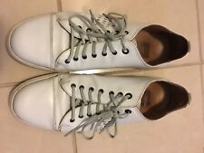 G-Star Raw Mens Shoes Off-white leather rocker sneakers low-top size 9