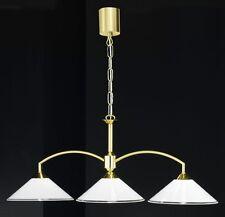 Elegante Pendelleuchte / Messing / 3 x E14 / LED möglich / NEU